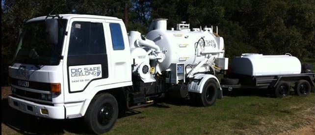 Dig Safe Geelong - Vacuum Truck - Victoria