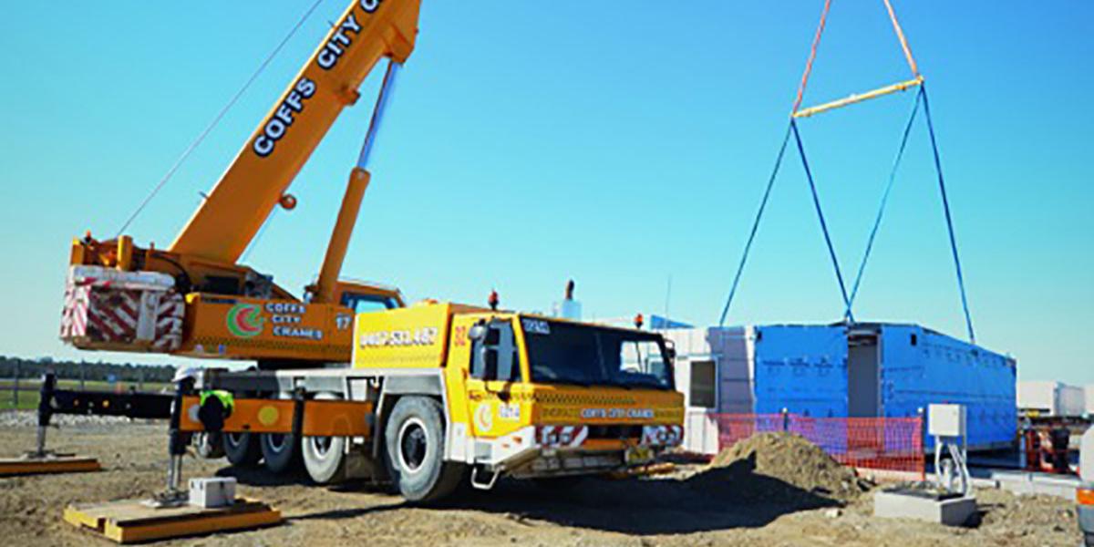 Coff City Cranes 110 Tonne Franna Hire