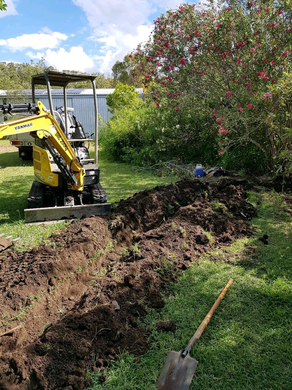 Mini Excavator Hire WIde Bay