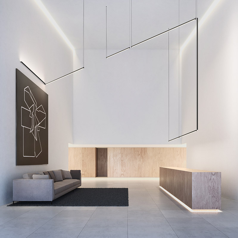 Sticks lighting by Vibia on TheModernist.House