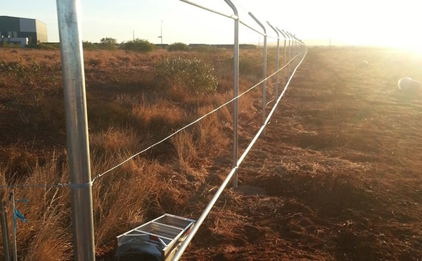 Hicks Civil and Mining Fence Pilbara