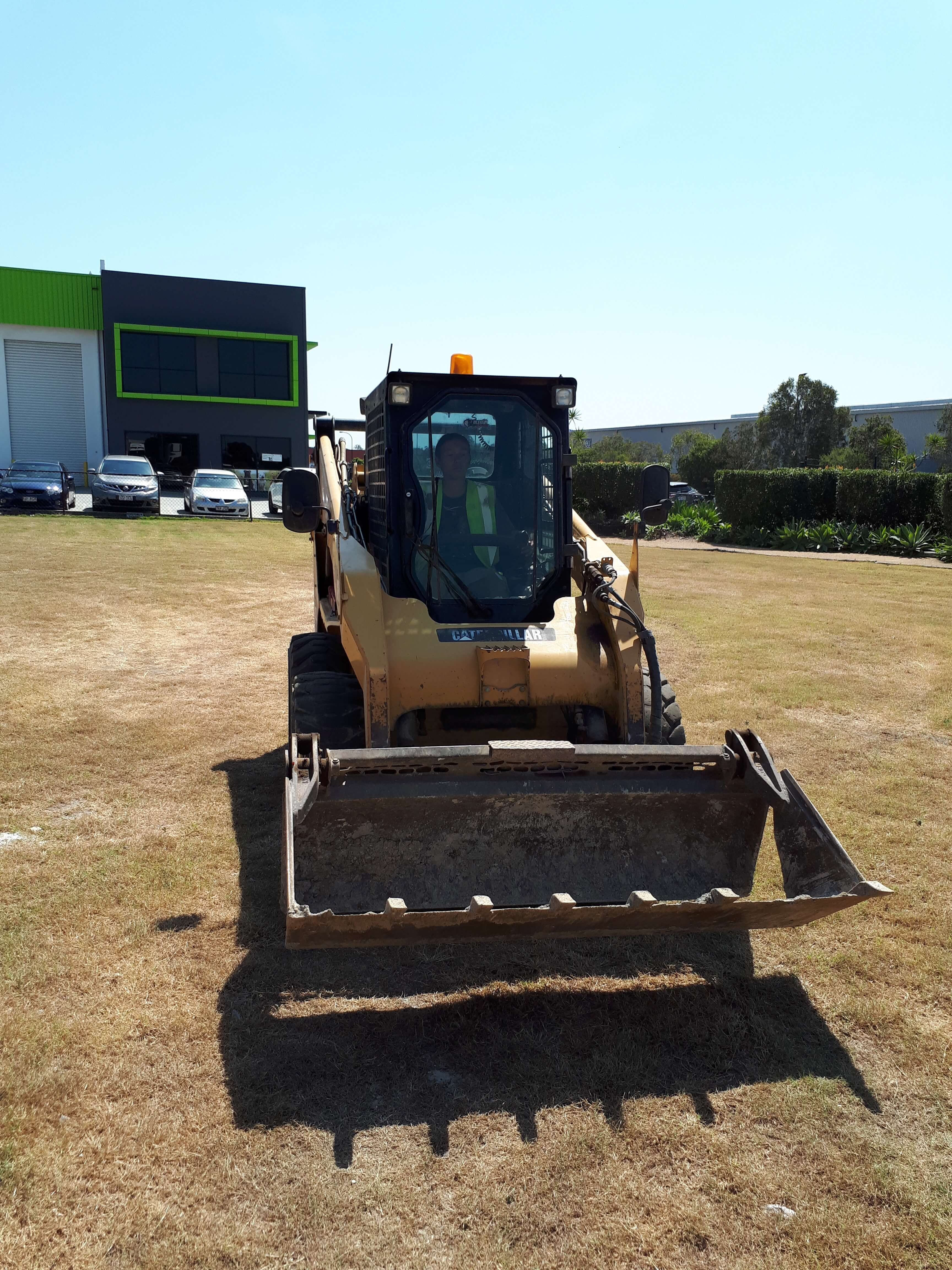 Were building a car park at Yatala. Great job Luke!