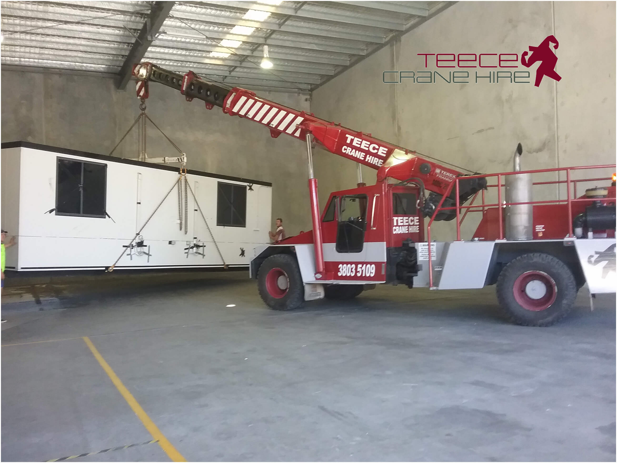 Teece Crane Hire - lifting demountable