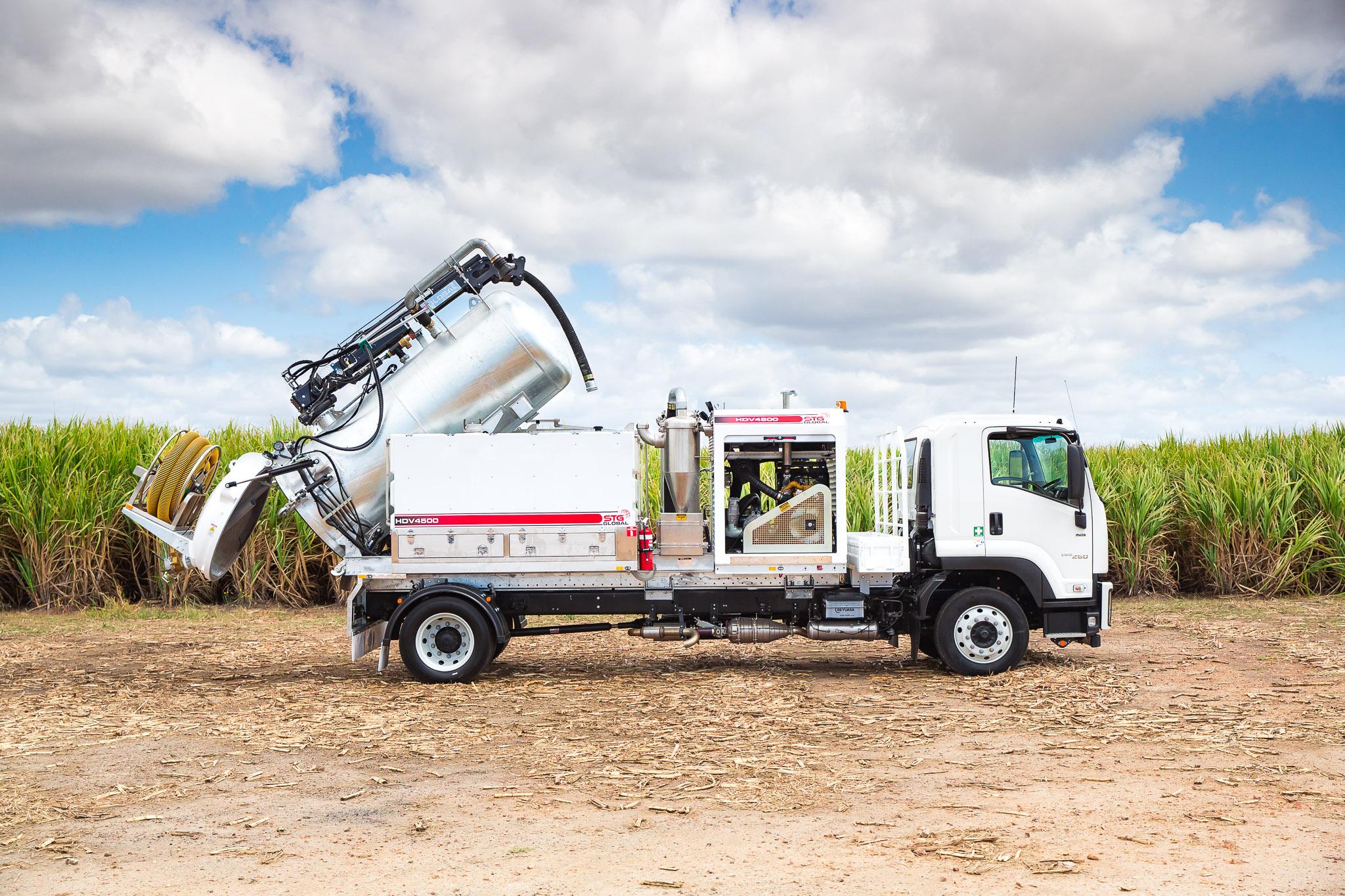 STG Global 2018 Isuzu FVD165-300 Auto 4x2 4,500Lt Vac Truck for sale