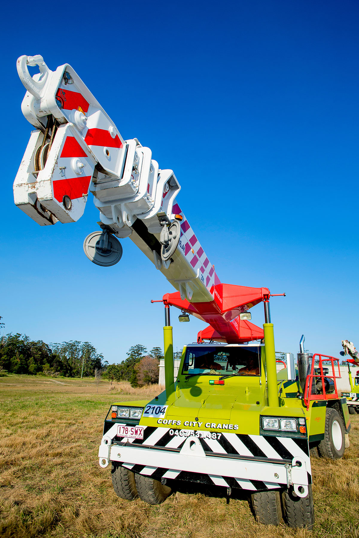 20T Terex Franna Crane Hire Coffs Harbour