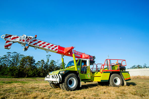 Terex 20T Franna Hire Coffs Harbour