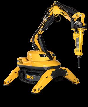 Industry-west-Brokk Robot