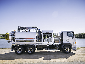 STG Global 6000L Vacuum Trucks