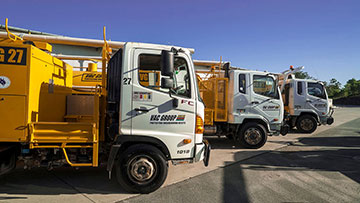 3000L Vacuum Excavators for hire at VAC Group Ormeau