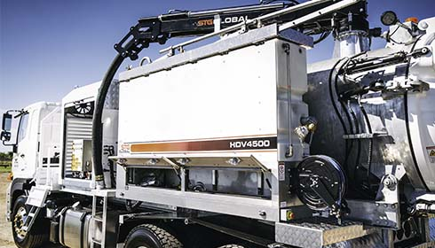 STG Global 4500L Vacuum Trucks