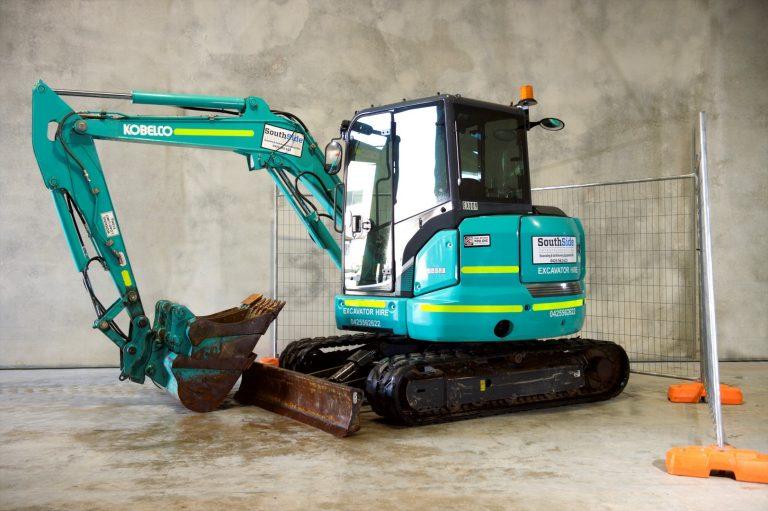 5-5 Ton Excavator Hire