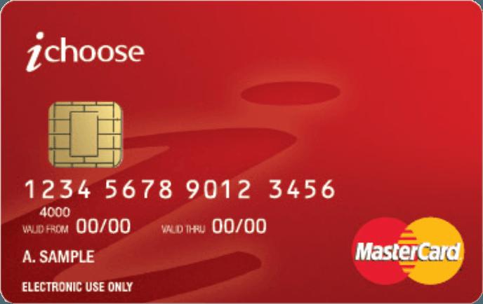 iChoose Visa card