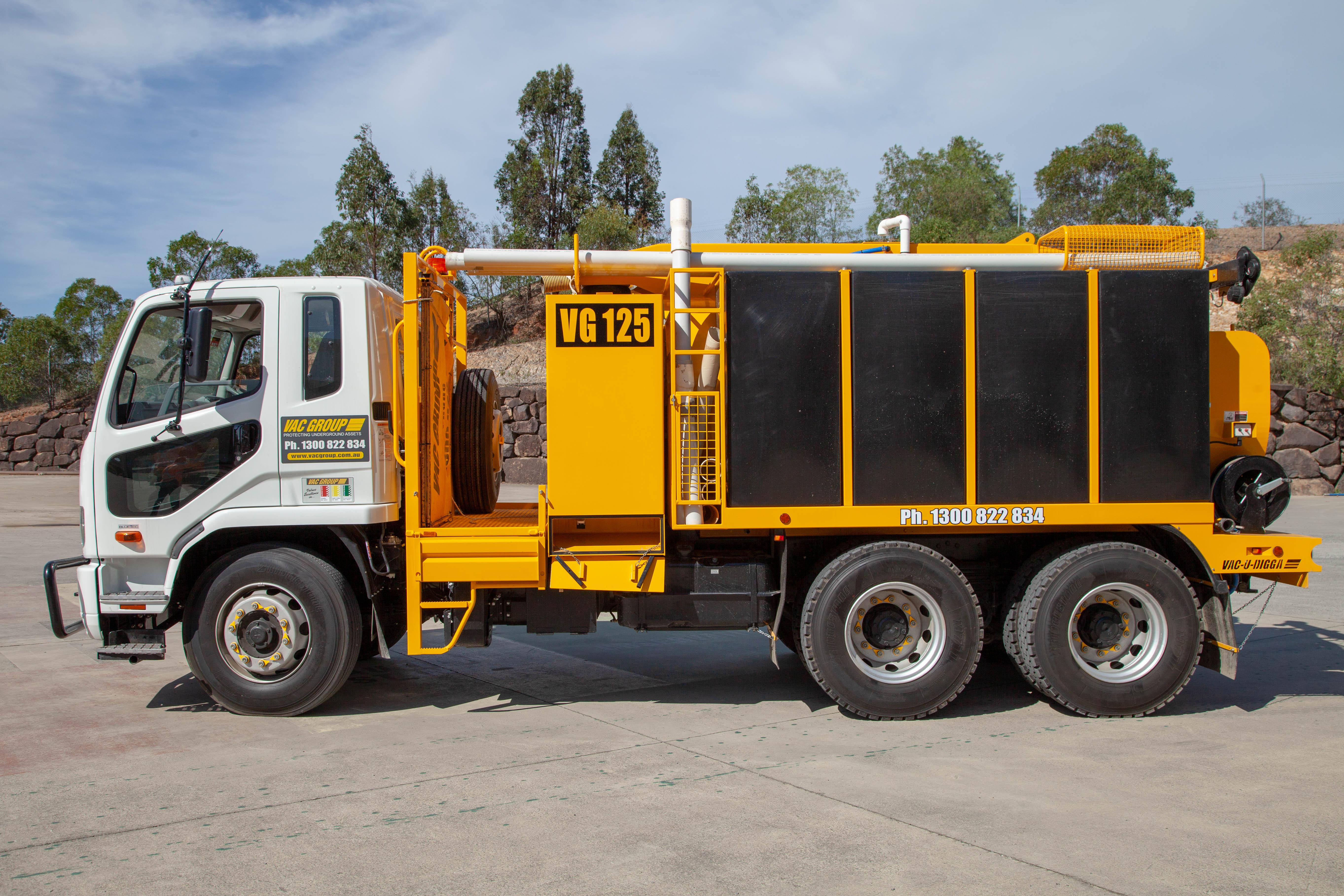 Used 6000L Vacuum Truck