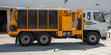 6000L vacuum excavator truck for sale VAC Group Ormeau