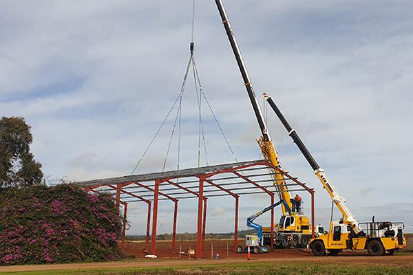 70 tonne all terrain crane hire
