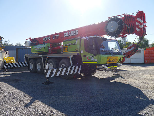 80T Grove All Terrain Crane Hire Coffs Harbour