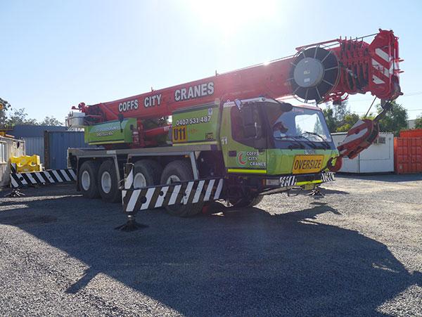 Coff City Cranes 80 Tonne Franna Hire