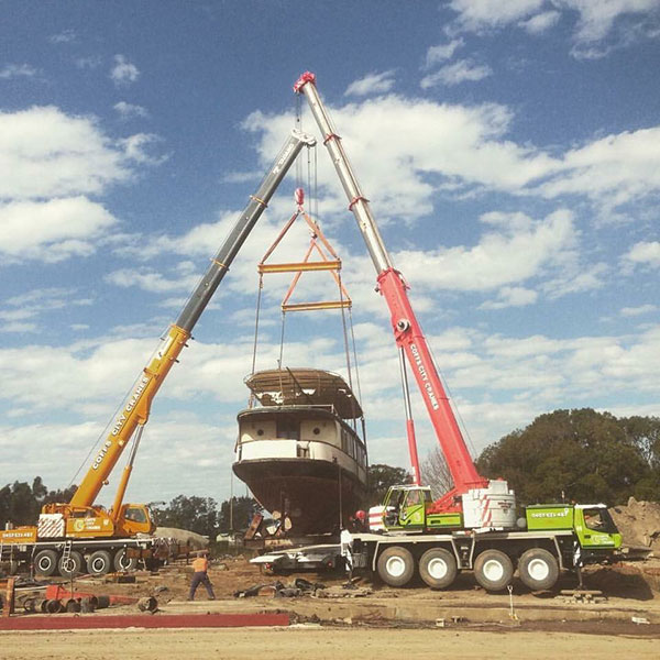 65T Grove All Terrain Crane Hire Coffs Harbour