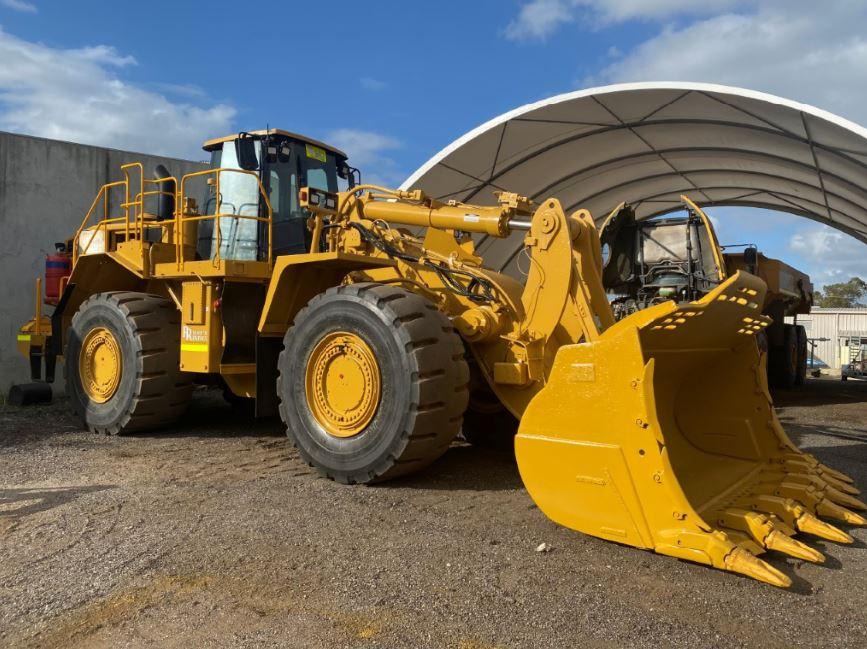 2012 Caterpillar 988 wheel loader