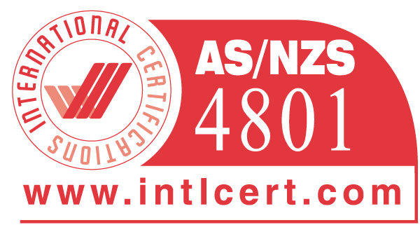 Certification AS/NZS 4801