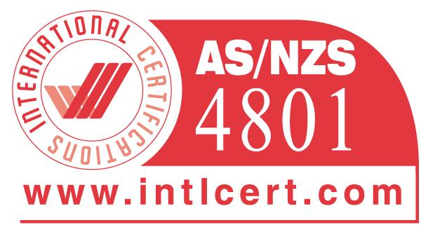 Certification AS/NZS 4801