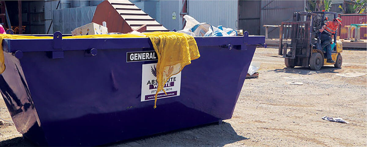 Rockhampton skip bin hire absolute waste