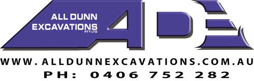 All Dunn Excavations logo