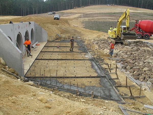 Armpell-Civil-Industrial-Park-storm-water-construction-Eurobodalla