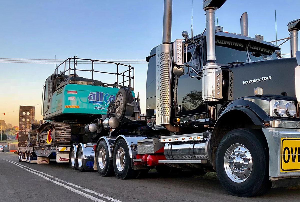 attcall excavator haulage contractors batemans bay sydney newcastle