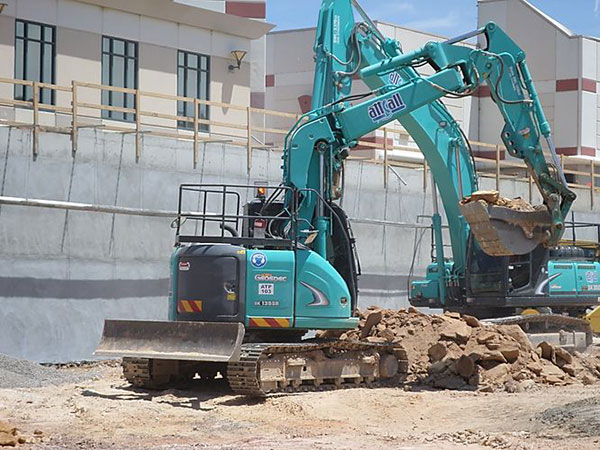 Attcall Civil Contractors Demolition Services in Batemans Bay and Newcastle with Excavators