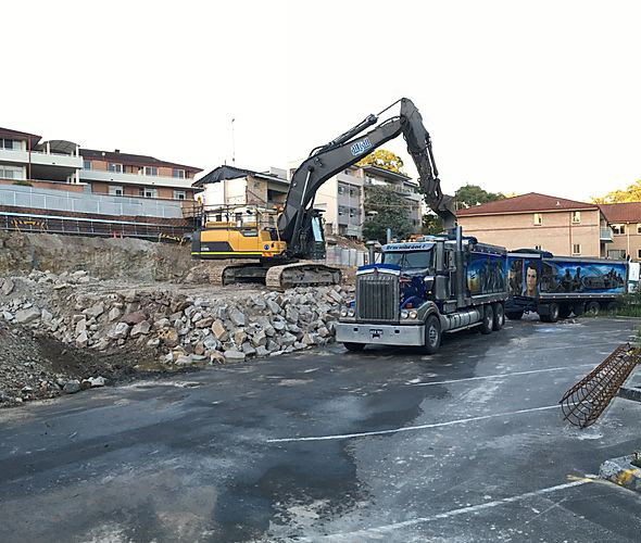 Attcall Civil Contractors Demolition with 25 tonne to 45 tonne Excavators and Haulage trucks