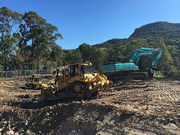 Attcall large fleet of plant hire available Batemans Bay and Newcastle