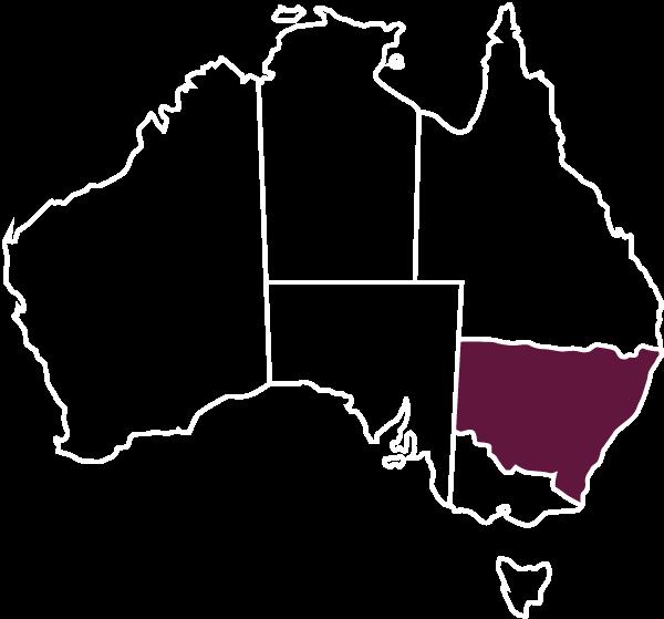 Australia-Map-White-Outline-NSW-Eaglerock