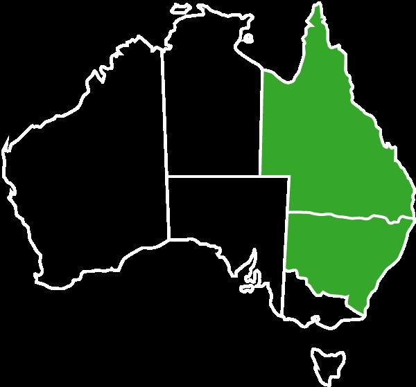 Australia-Map-White-Outline-QLD-NSW-Green