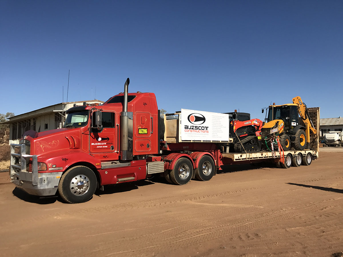 Auzscot Construction Fleet Truck