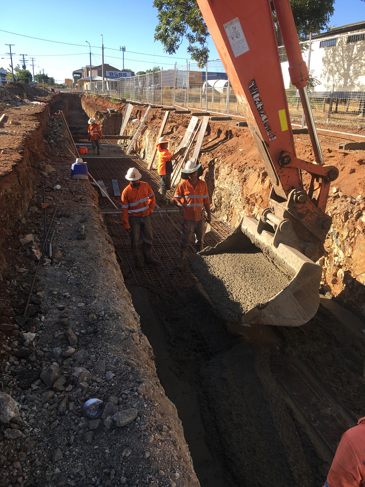 Auzscot Construction Trenching Inspection