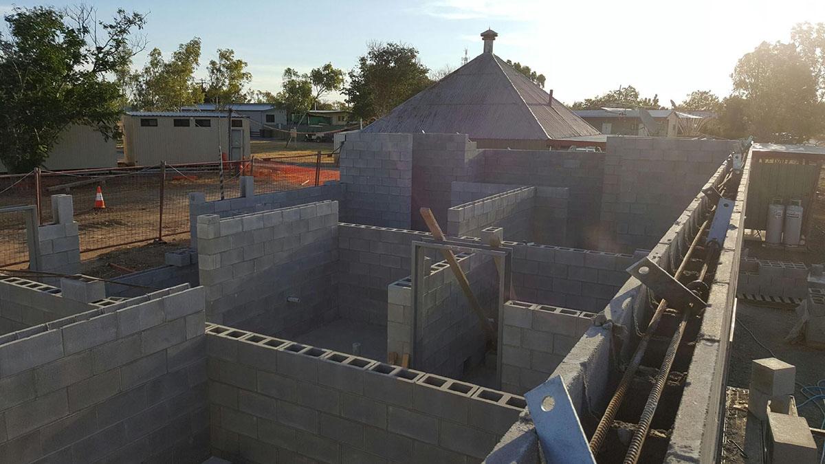 Auzscot Construction retaining walls
