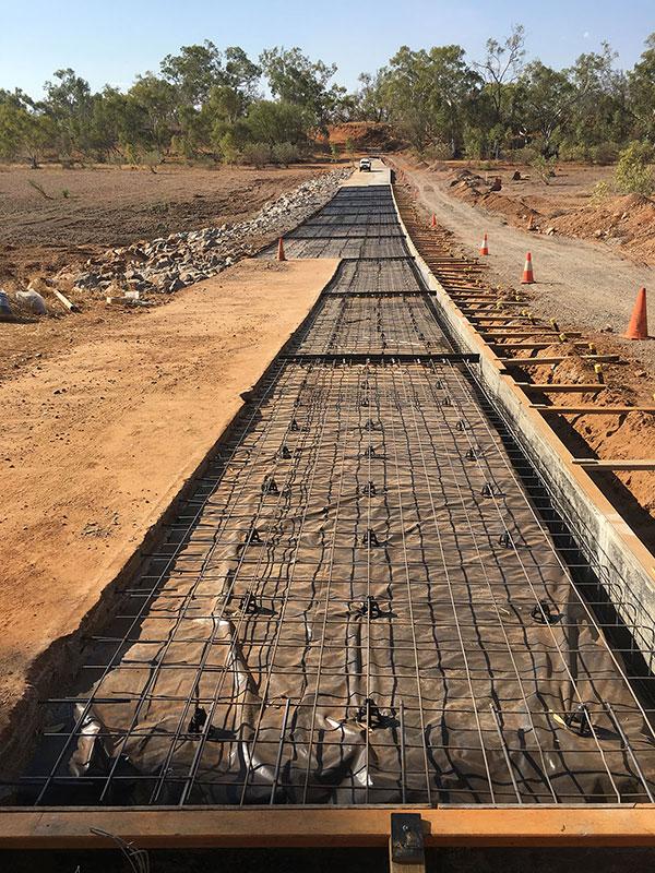 Auzscot Construction foundation 2