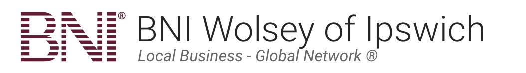 BNI Wolsey of Ipswich Logo