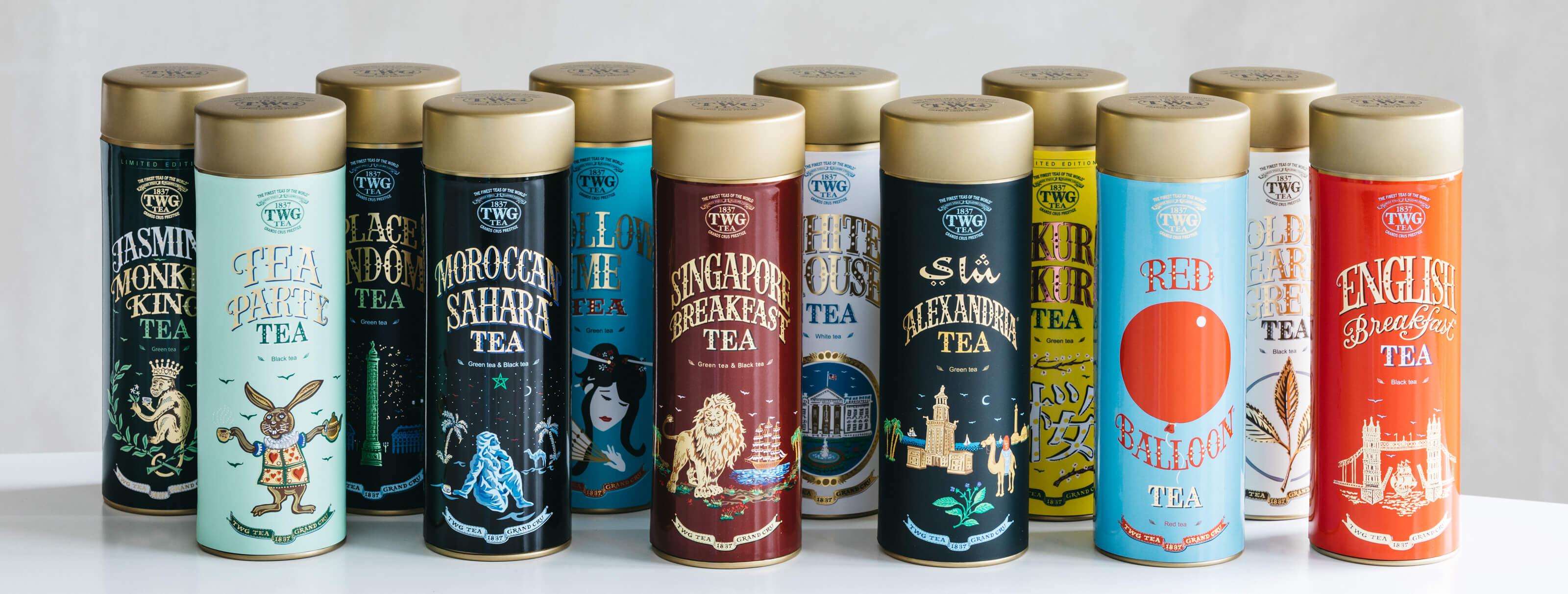twg tea - Retail range | BOND STREET