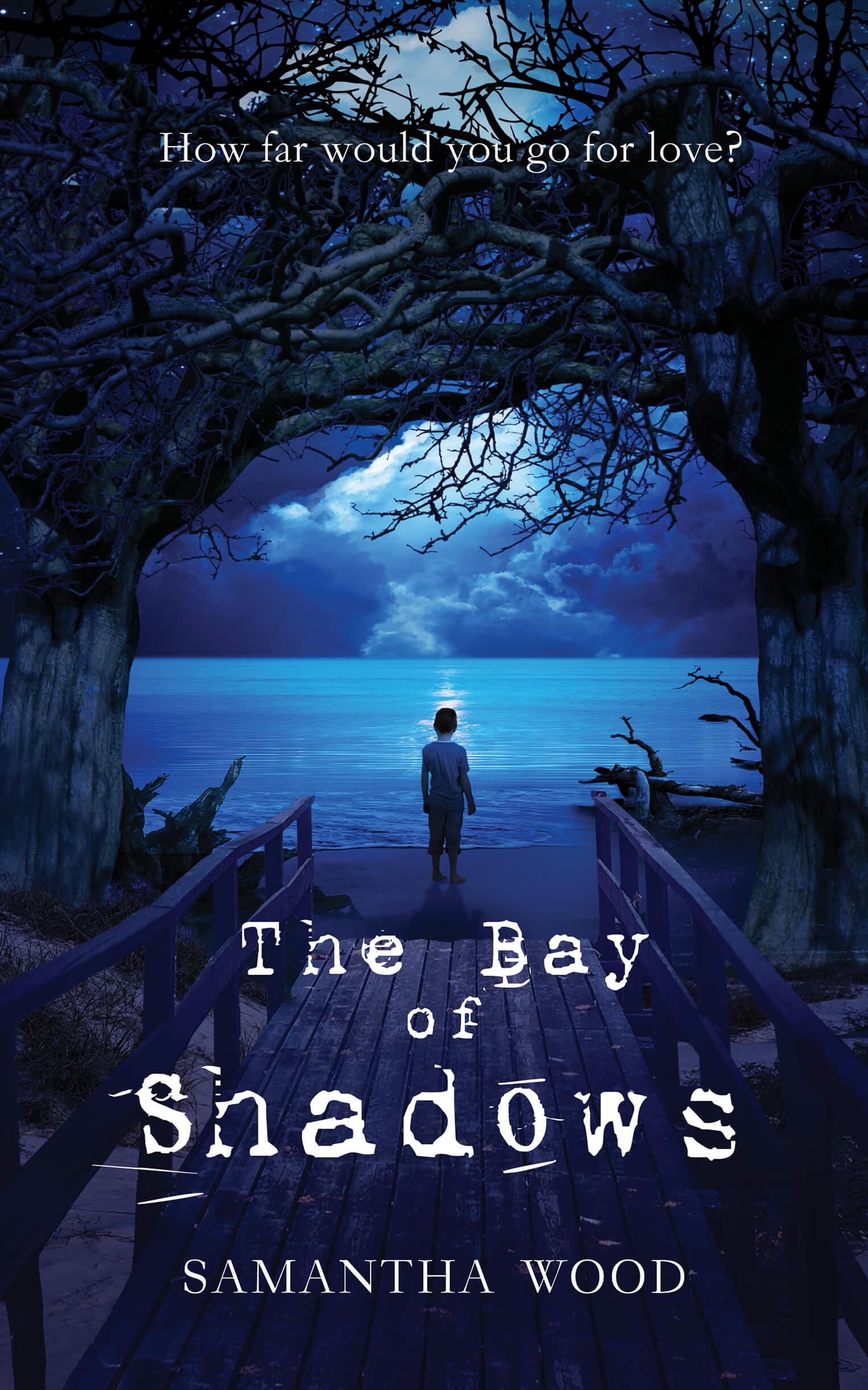 The Bay of Shadows, a novel by Samantha Wood.