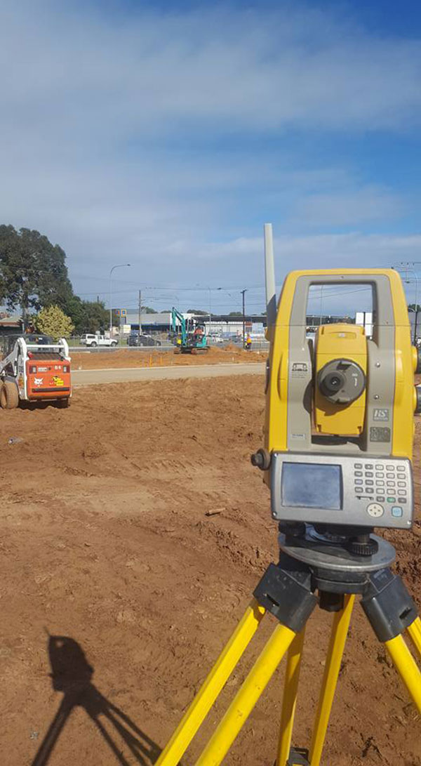 Bennett Plumbing and Civil bobcat and surveying equipment