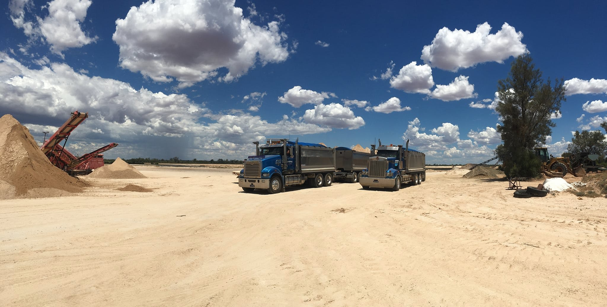 Boardman Sand And Gravel - Tipper Truck Hire - Sunshine Coast