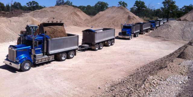 Boardman Sand And Gravel - Truck And Dog Hire - Sunshine Coast