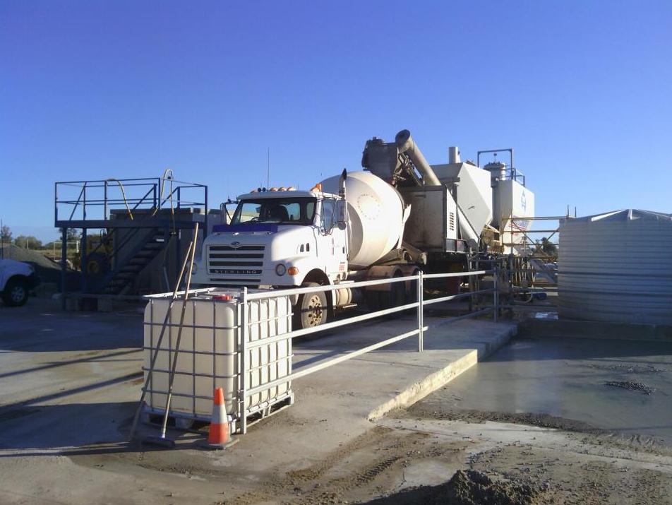 Mobile concrete batching plant for hire bundaberg