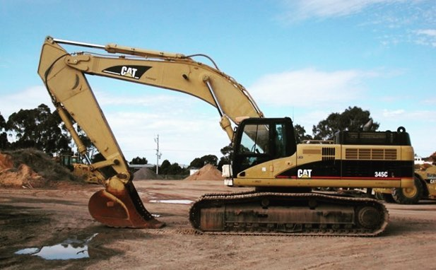 Burns Equipment Group 345C Excavator