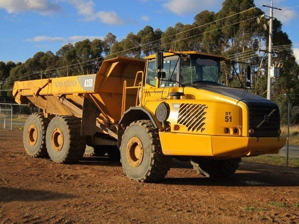 Burns Equipment Group A35D Tipper