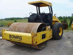 Burns Equipment Group Bomag smooth roller