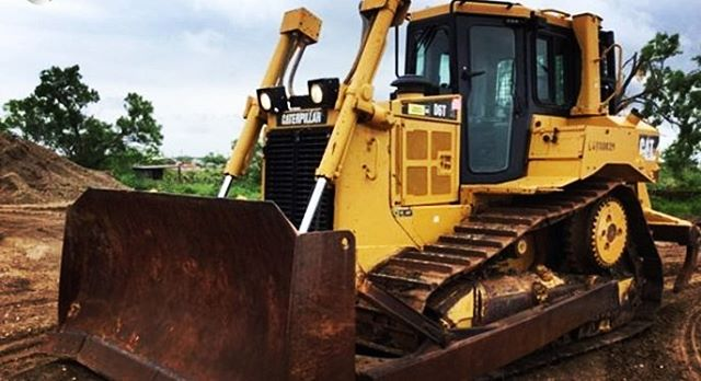 Burns Equipment Group Cat dozer posi