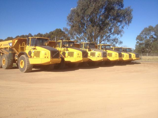 Burns Equipment Group articulateddumptruck-hire